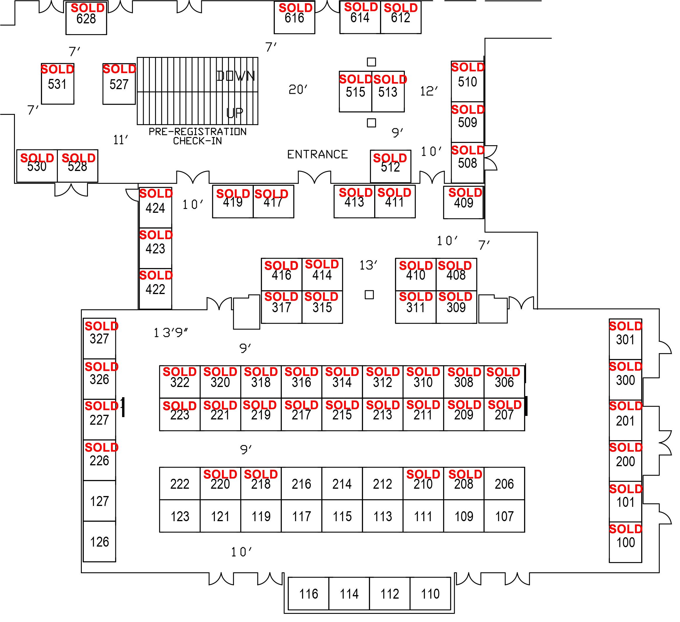 Tahoe Business Expo Floorplan