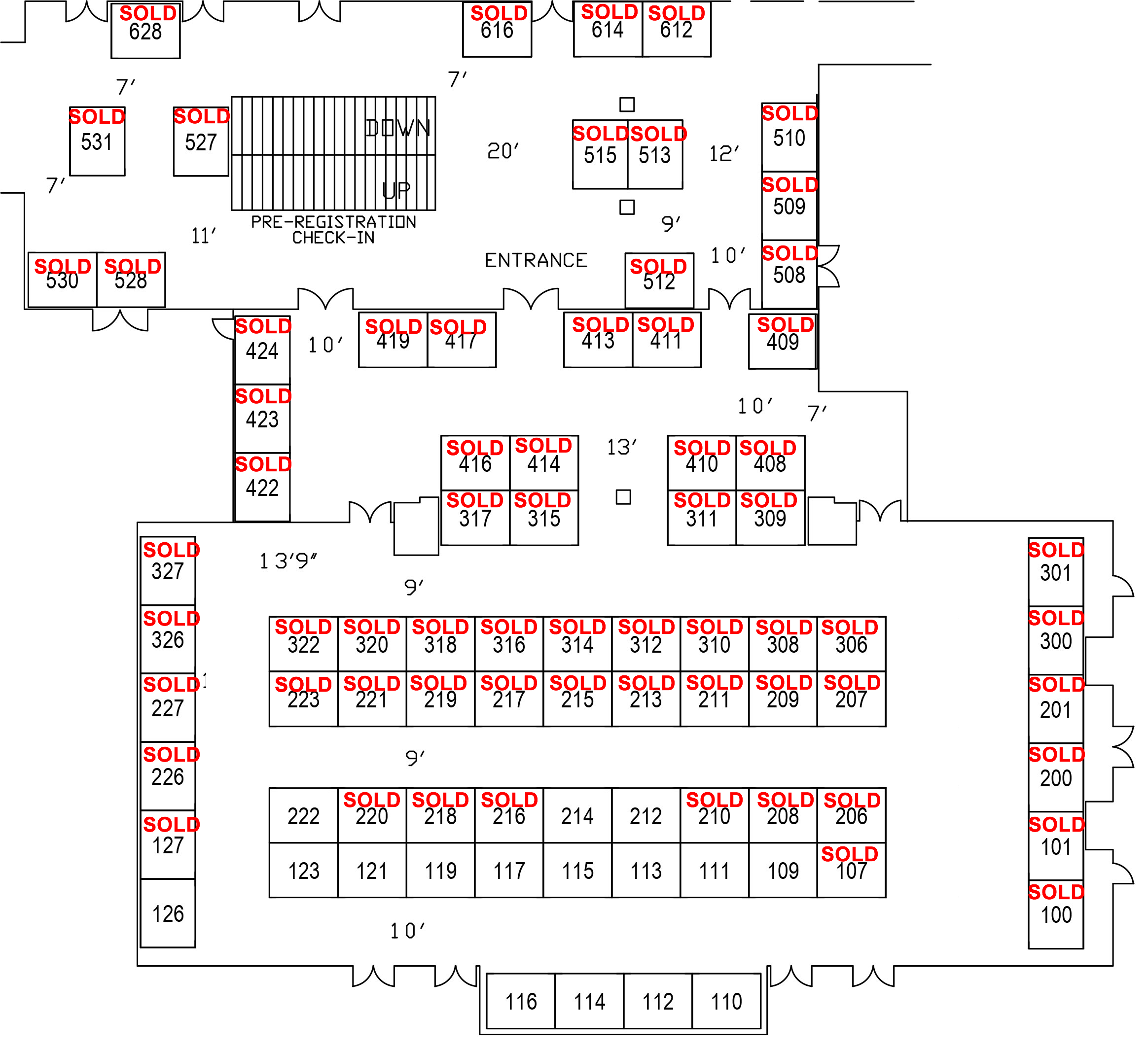 Floorplan at Harveys Sold 102015-2