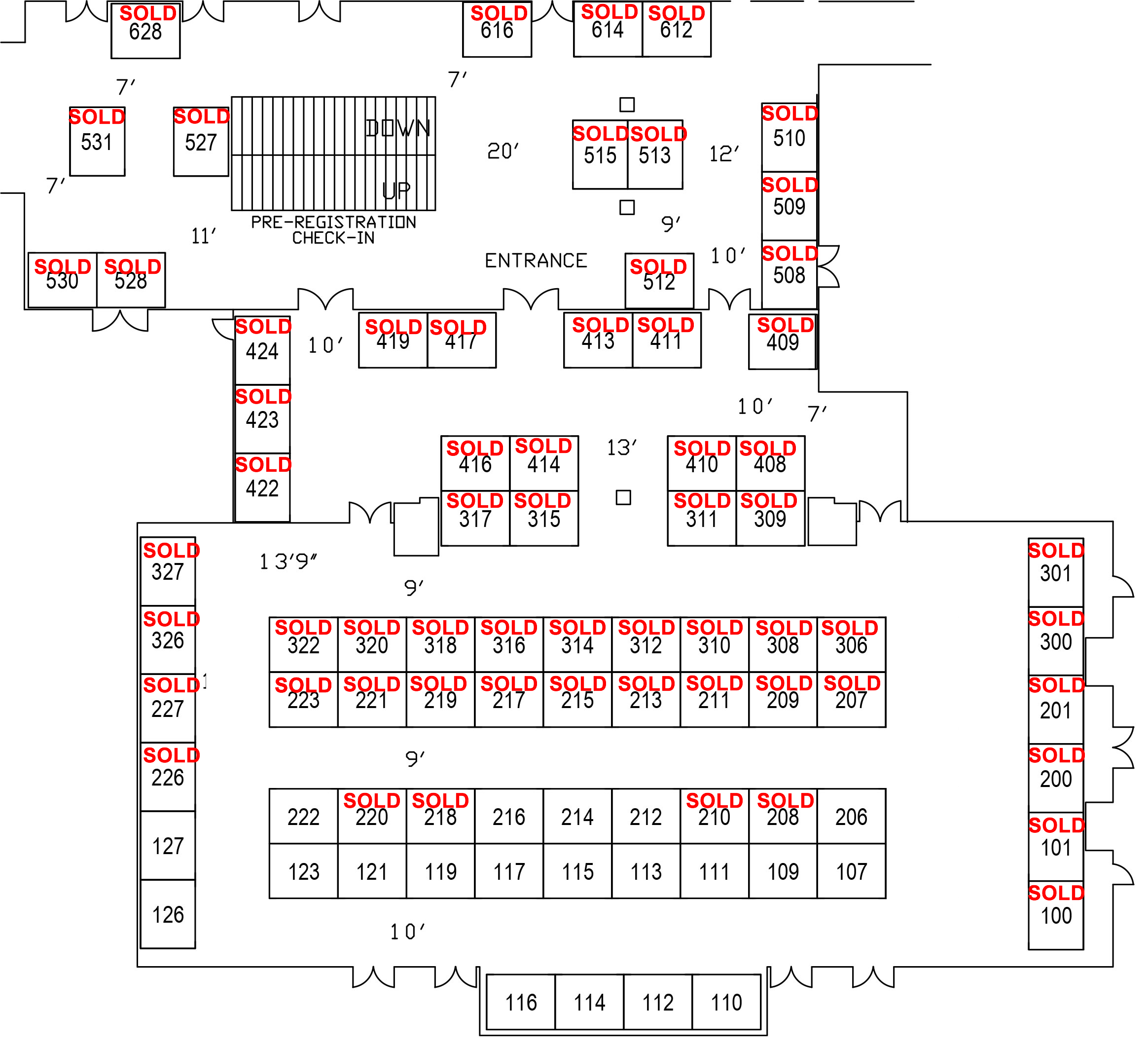 Tahoe Business Expo Floorplan